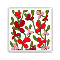 Floral Tree Memory Card Reader (square)  by Valentinaart