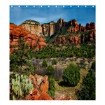 Out West Format  Matching Set SHOWER CURTAIN - Shower Curtain 66  x 72  (Large)