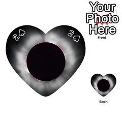 Solar Eclipse Playing Cards 54 (Heart)  by Zeze