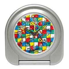 Snakes And Ladders Travel Alarm Clocks by Zeze