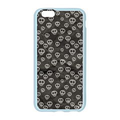 Skull Halloween Background Texture Apple Seamless iPhone 6/6S Case (Color) by Zeze