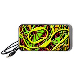 Snake Bush Portable Speaker (black)  by Valentinaart
