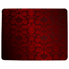 Red Dark Vintage Pattern Jigsaw Puzzle Photo Stand (Rectangular) by Zeze