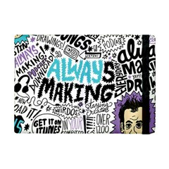 Always Making Pattern iPad Mini 2 Flip Cases by AnjaniArt