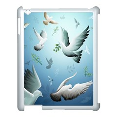 Animated Nature Wallpaper Animated Bird Apple Ipad 3/4 Case (white) by AnjaniArt