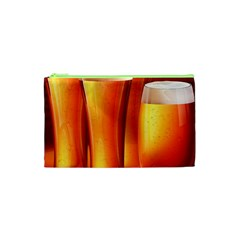 Beer Wallpaper Wide Cosmetic Bag (xs) by AnjaniArt