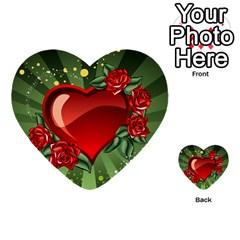 Cool Boy Wallpaper Multi Purpose Cards (heart)  by AnjaniArt