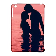Couple In Love Beach Apple Ipad Mini Hardshell Case (compatible With Smart Cover) by AnjaniArt