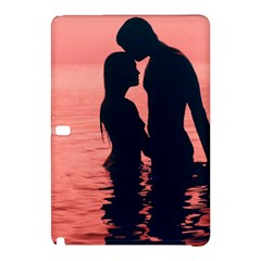 Couple In Love Beach Samsung Galaxy Tab Pro 12 2 Hardshell Case by AnjaniArt