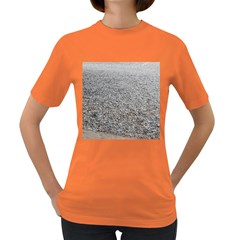 Pebble Beach Photography Ocean Nature Women s Dark T Shirt by yoursparklingshop