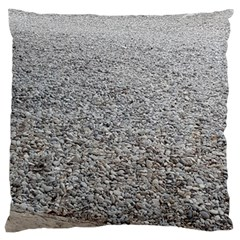 Pebble Beach Photography Ocean Nature Large Flano Cushion Case (one Side) by yoursparklingshop