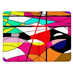 Abstract waves Kindle Fire (1st Gen) Flip Case