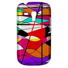 Abstract Waves Samsung Galaxy S3 Mini I8190 Hardshell Case by Valentinaart