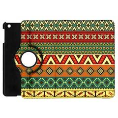 Mexican Folk Art Patterns Apple iPad Mini Flip 360 Case by Zeze