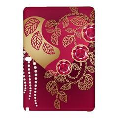 Love Heart Samsung Galaxy Tab Pro 10.1 Hardshell Case by Zeze