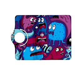 Deep Wow Purple Cartoons Kindle Fire Hd (2013) Flip 360 Case by AnjaniArt