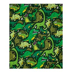Dino Pattern Cartoons Shower Curtain 60  X 72  (medium)  by AnjaniArt