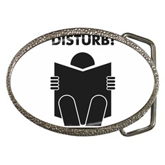Do Not Disturb Sign Board Belt Buckles by AnjaniArt