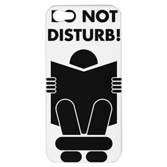 Do Not Disturb Sign Board Apple Iphone 5 Hardshell Case by AnjaniArt
