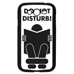 Do Not Disturb Sign Board Samsung Galaxy Grand Duos I9082 Case (black) by AnjaniArt