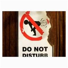 Do Not Disturb Sign Please Go Away I Don T Care Collage Prints by AnjaniArt