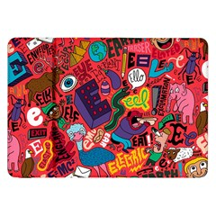 E Pattern Cartoons Samsung Galaxy Tab 8 9  P7300 Flip Case by AnjaniArt