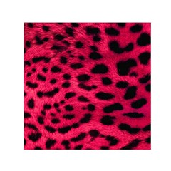 Leopard Skin Small Satin Scarf (Square) by Zeze