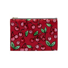 Cherry Cherries For Spring Cosmetic Bag (medium)  by BubbSnugg