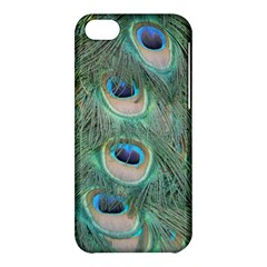 Peacock Feathers Macro Apple Iphone 5c Hardshell Case by GiftsbyNature