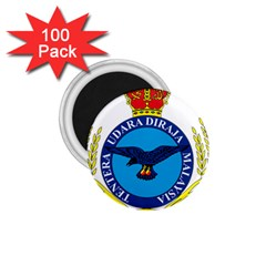 Crest of Royal Malaysian Air Force 1.75  Magnets (100 pack)  by abbeyz71