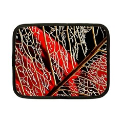 Leaf Pattern Netbook Case (Small)  by Zeze