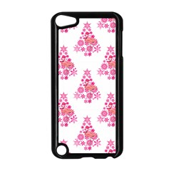 Pink Flamingo Santa Snowflake Tree  Apple Ipod Touch 5 Case (black) by CrypticFragmentsColors