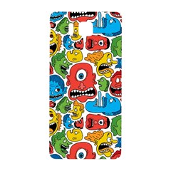 Face Creeps Cartoons Fun Samsung Galaxy Alpha Hardshell Back Case by AnjaniArt