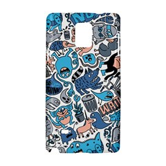 Gross Patten Now Samsung Galaxy Note 4 Hardshell Case by AnjaniArt