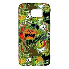 Halloween Pattern Galaxy S6 by AnjaniArt