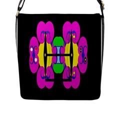 Fgnnjmjhyjjjmbjjhmh opu, Flap Messenger Bag (l)  by MRTACPANS