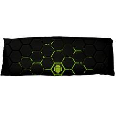 Green Android Honeycomb Gree Body Pillow Case (Dakimakura) by Zeze