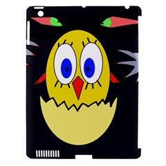 Chicken Apple Ipad 3/4 Hardshell Case (compatible With Smart Cover) by Valentinaart