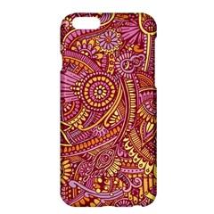Pink Yellow Hippie Flower Pattern Zz0106 Apple Iphone 6 Plus/6s Plus Hardshell Case by Zandiepants
