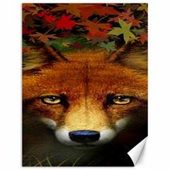 Fox Canvas 12  x 16   by Zeze