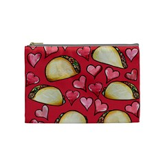 Taco Tuesday Lover Tacos Cosmetic Bag (medium)  by BubbSnugg