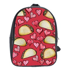 Taco Tuesday Lover Tacos School Bags (xl)  by BubbSnugg