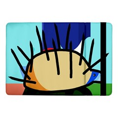 Hedgehog Samsung Galaxy Tab Pro 10.1  Flip Case by Valentinaart