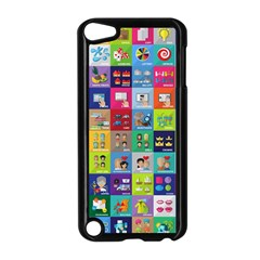 Exquisite Icons Collection Vector Apple iPod Touch 5 Case (Black) by Zeze