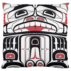 Ethnic Traditional Art Standard Flano Cushion Case (One Side) by Zeze