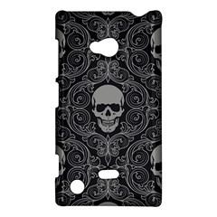 Dark Horror Skulls Pattern Nokia Lumia 720 by Zeze