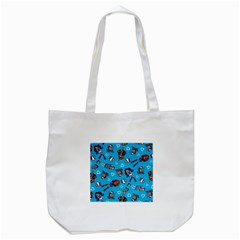Large Tote Bag (white) by AnjaniArt
