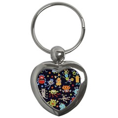Large Pablic Cartoons Key Chains (heart)  by AnjaniArt