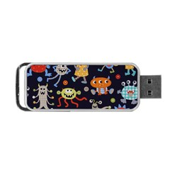 Large Pablic Cartoons Portable USB Flash (One Side) by AnjaniArt