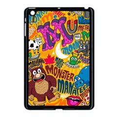 M Pattern Apple iPad Mini Case (Black) by AnjaniArt